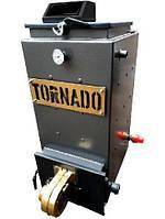 8 кВт TORNADO Standart твердотопливный котел СТАЛЬ 5 мм, фото 1