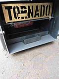 6 кВт TORNADO Termo твердотопливный котел СТАЛЬ 5 мм, фото 6
