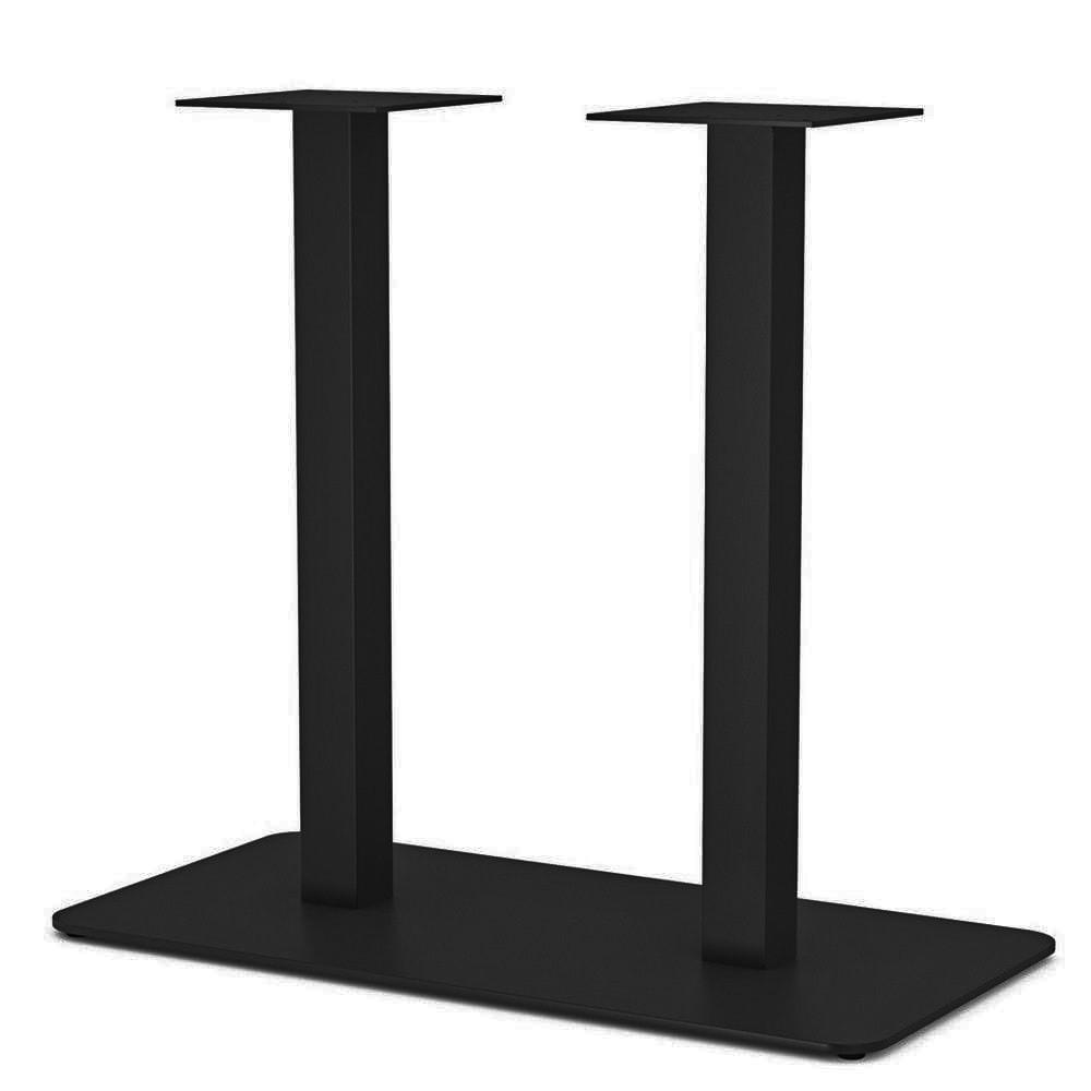 База для столу в ресторан з металу опора від виробника з округленими кутами