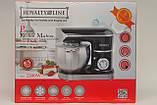 Кухонний комбайн, тістоміс ROYALTY LINE RL - PKM 2200.472.9 BLACK (2200 Ватів), фото 3