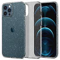 Чохол Spigen для iPhone 12 Pro Max Liquid Crystal Glitter, Crystal Quartz (ACS01614)