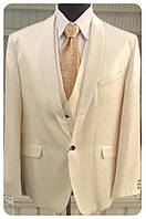 Мужской костюм тройка West-Fashion модель 783 беж