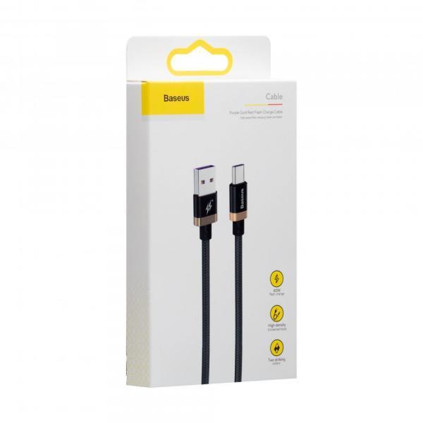 USB Baseus CATZH-A Type-C 40w 1m