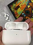 Беспроводные наушники Apple Airs Pro ЛЮКС аналог с зарядным кейсом, влагостойкие наушники Wi-pods беспроводные, фото 4