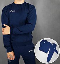 Мужской спортивный костюм Асикс, свитшот и штаны