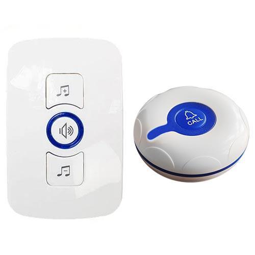 Система вызова RECS R-12 с кнопкой R-300 Blue с питанием от батарейки