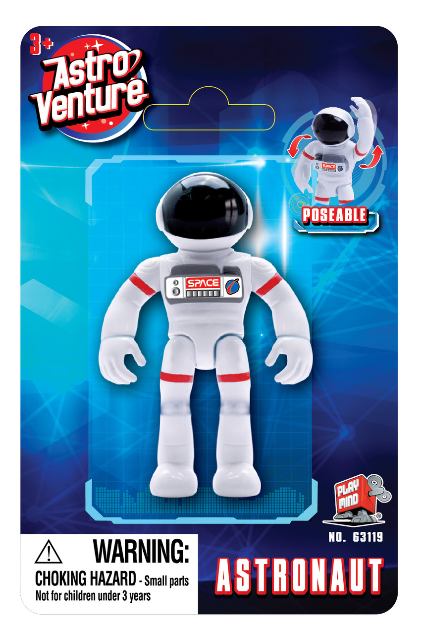 Ігрова фігурка астронавт білий Astro Venture (помаранчевий) (63119)