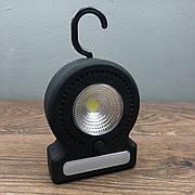 Туристический кемпинговый фонарь Светильник с крюком для подвески cветодиодный фонарик с магнитом переносной
