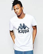 Мужская футболка Каппа, хлопок приятная к телу