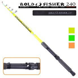 "Спиннинг телескоп ""Bold fisher"" 2.4м 60-120г 6к, фото 2"