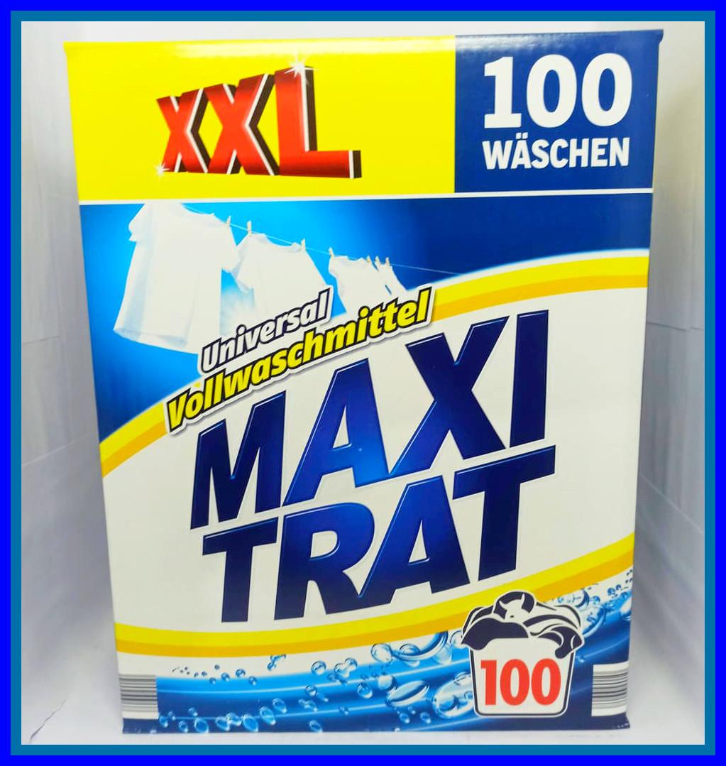 Порошок для прання універсальний Maxi Trat XXL Максі Витрат 6 кг (100 прань)