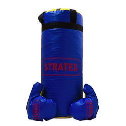 "Боксерський набір ""Elite sport"" великий (висота 55 см, діаметр 21 см) /5/ Стратег"