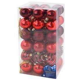 Елочные шарики 6см 36шт/уп
