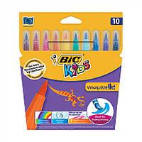 Фломастеры 10 цветов BIC Kids Visaquarelle акварельные