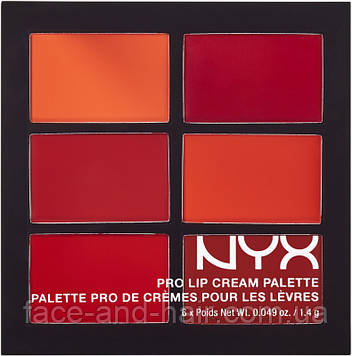 Помада палетка NYX Pro Lip Cream The Nudes