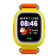 Детские GPS часы-телефон Q100 (Q90) Yellow