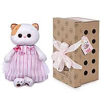 Мягкая игрушка Budi Basa Кошечка Ли-Ли в платье с бабочками, 24 см от Budi Basa