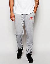 Чоловічі спортивні штани Нью Беланс, трикотажні на манжеті
