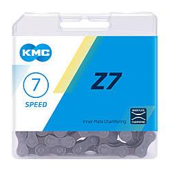 Ланцюг KMC Z7 для 7 швидкісних трансмісій велосипеда, без замка ланцюга