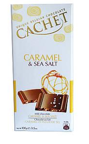Шоколад Cachet Caramel & Sea Salt