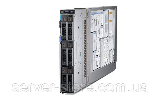 Сервер Dell PE MX740c Blade (210-MX740c-6238R) - Intel Xeon Gold 6238R