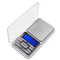 Карманные ювелирные электронные высокоточные весы Domotec 1724B 0,01-200 гр + батарейки (0385)
