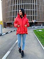 """Куртка жіноча демісезонна стильна, розміри 42-48(3ол) """"Zig Zag"""" купити недорого від прямого постачальника"""