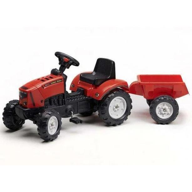 Дитячий педальний трактор з причепом FALK Lander 2030AC 2-5 років