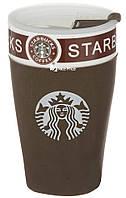 Чашка керамическая кружка Starbucks PY 023 коричневый (4152)
