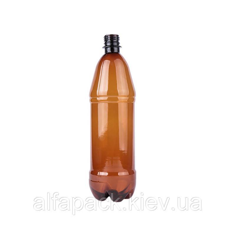 Бyтылка коричневая 1л, упаковка