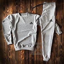 Мужской спортивный костюм Адидас, свитшот и штаны