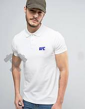 Мужское поло ЮФС, футболка с воротником ЮФС