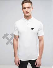 Мужское поло Нью Беланс, поло тенниска New Balance, мужская футболка Нью Беланс, Турецкий хлопок, реплика