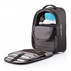"Рюкзак чемодан антивор XD Design Bobby ""Backpack Trolley"" /черный, фото 5"