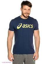 Мужская футболка Асикс, хлопок приятная к телу