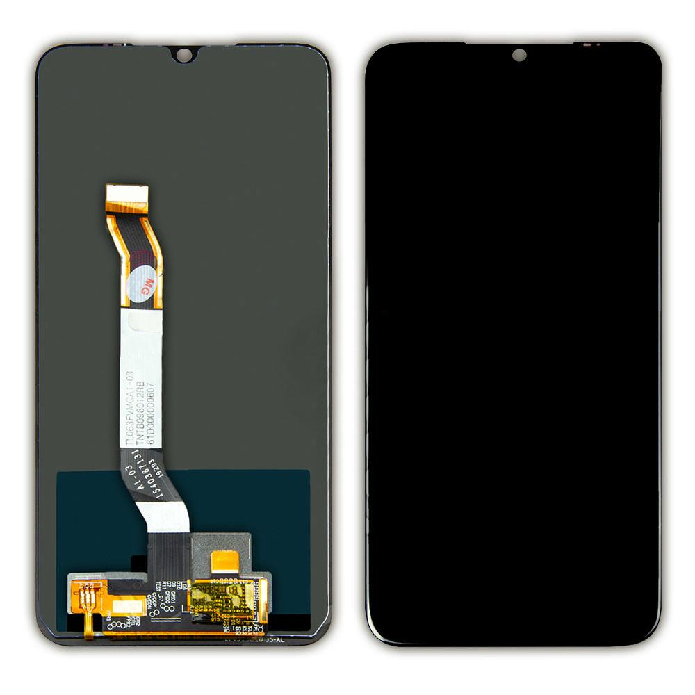 Дисплей для Xiaomi Redmi Note 8 черный, с тачскрином China Original