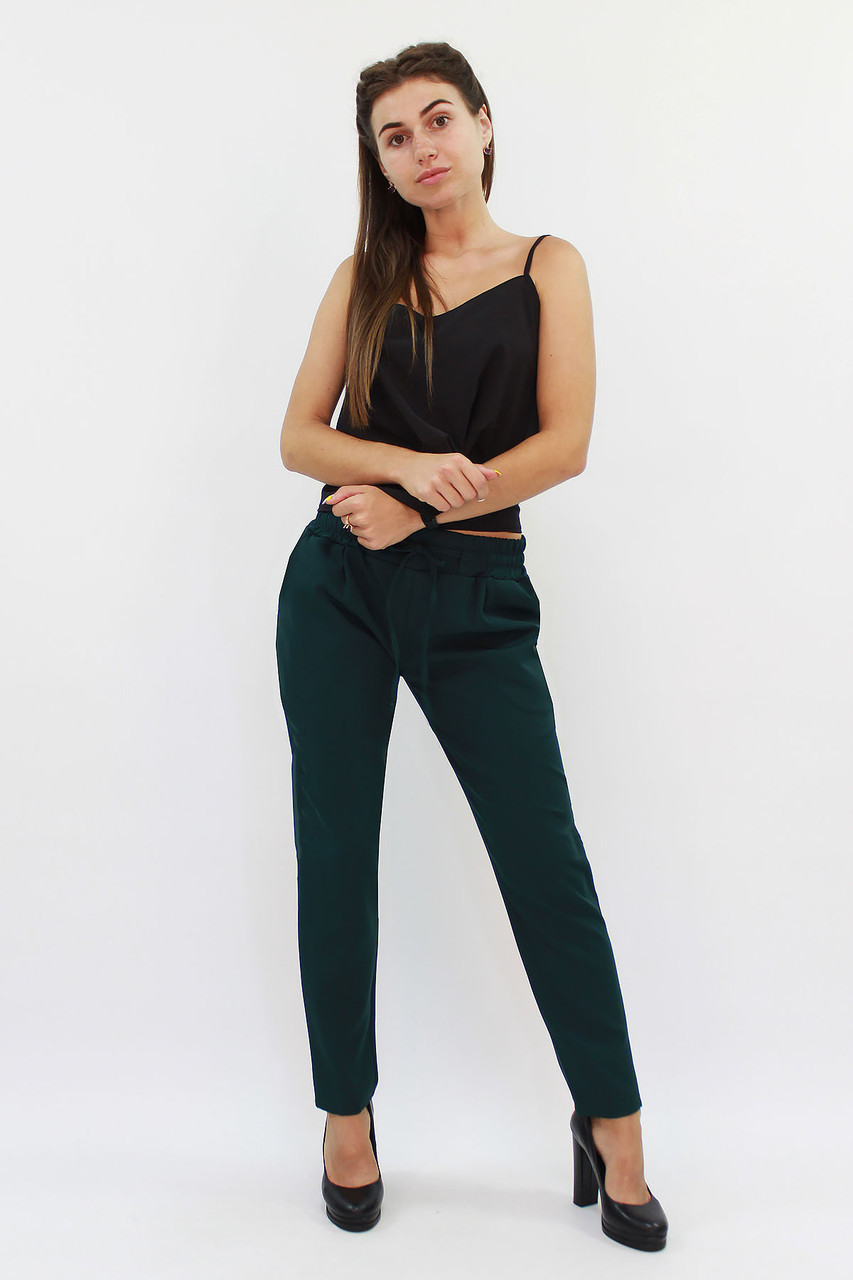 S, M, L, XL   Стильні жіночі брюки Shansy, зелений