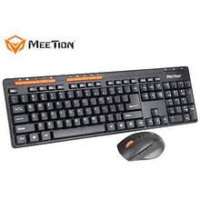 Игровой набор для компьютера Meetion MK-803 KIT Черный
