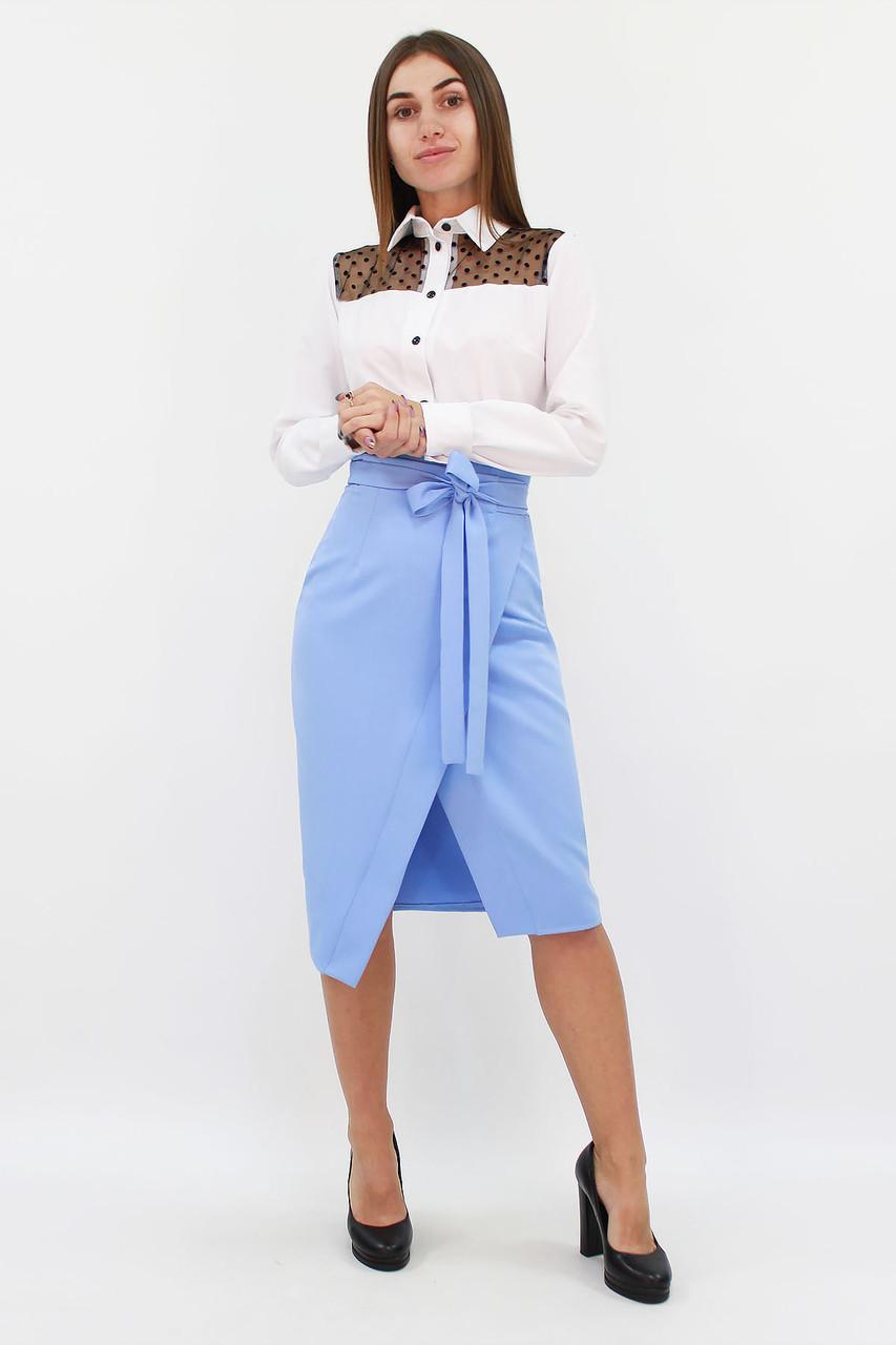 S, M, L, XL | Вишукана жіноча спідниця Nicolet, блакитний