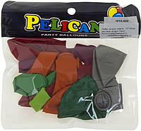 "Набір кульок повітр. 10""/26см пастель асорті 10шт №1010-888/Pelican/(1)"
