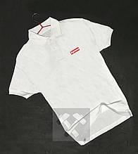 Мужское поло Суприм, футболка с воротником Суприм