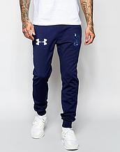 Мужские спортивные штаны Андер Армор, трикотажные на манжете