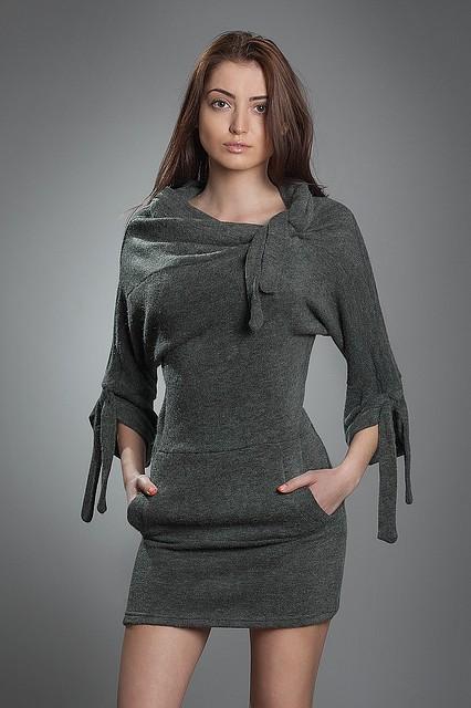 Туника Джамала мод №137, размеры 44-46 черная