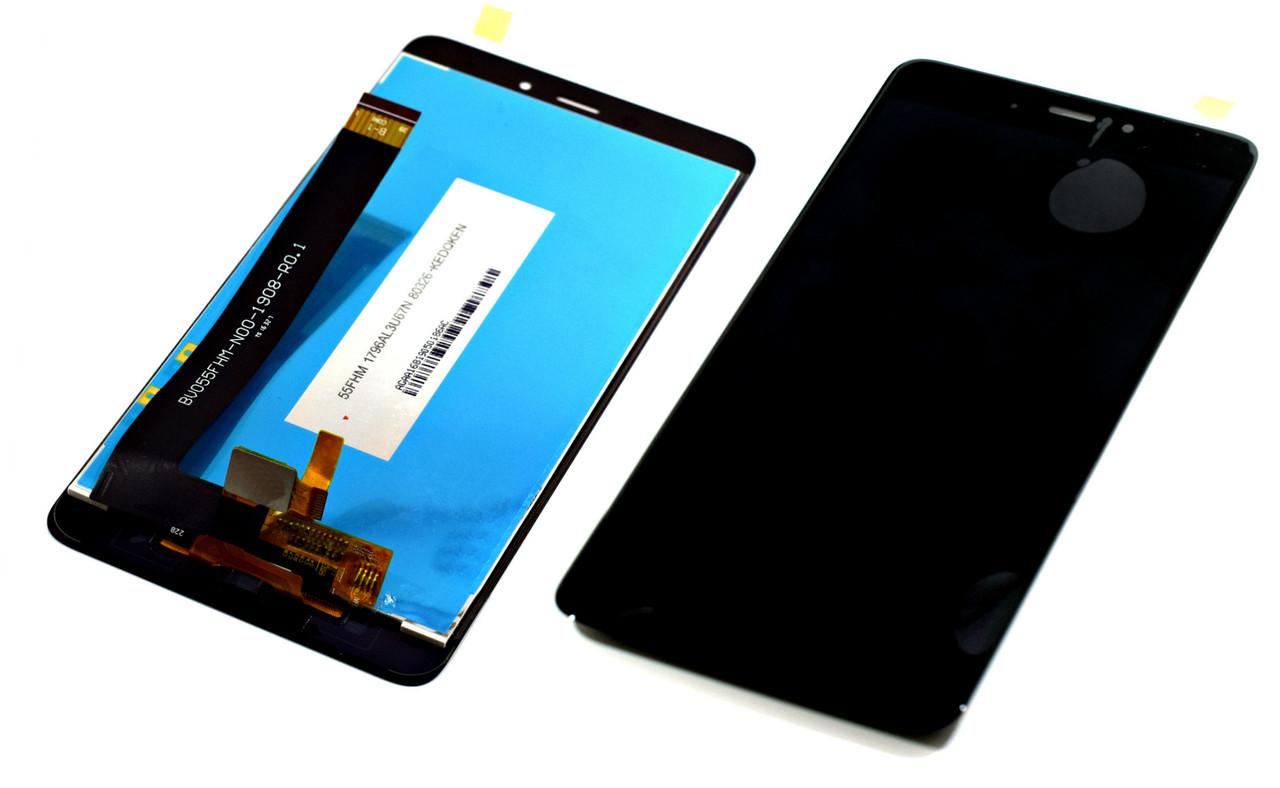 Дисплей для Xiaomi Redmi Note 4 черный, с тачскрином China Original