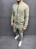 Мужской спортивный костюм 2Y Premium 5226 olive