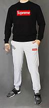 Мужской спортивный костюм Суприм, свитшот и штаны