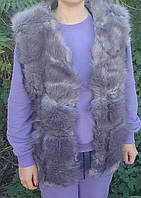 Жилетка женская  Мех Размер л-хл (2шт) 2хл-3хл (2шт) В ростовке 4шт, фото 1