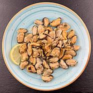 Мидии слабосолёные в масле с лимоном. Цена указана за ведро 1 кг., фото 3