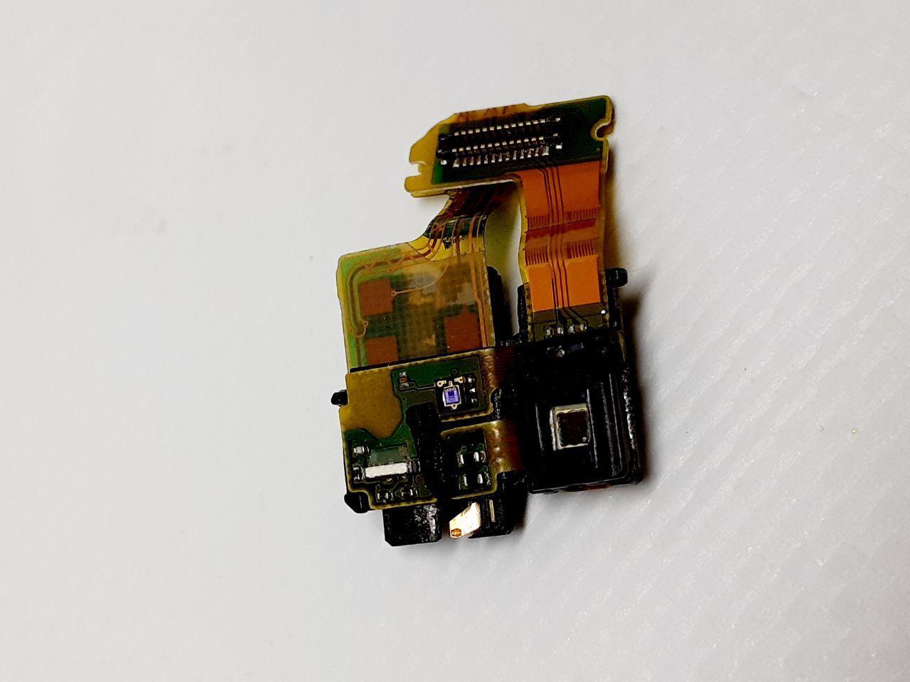 Роз'єм навушників Sony C6602 Xperia Z L36h, C6603 L36i, C6606 L36a з датчиком наближення, мікрофоном, на шлейф
