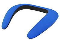Портативная bluetooth колонка на шею спикер SoundGear синий